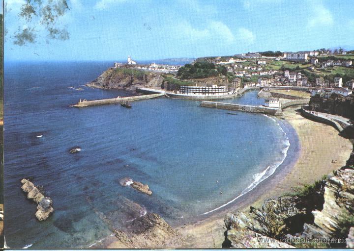 LUARCA - VISTA PARCIAL (Postales - España - Asturias Moderna (desde 1.940))