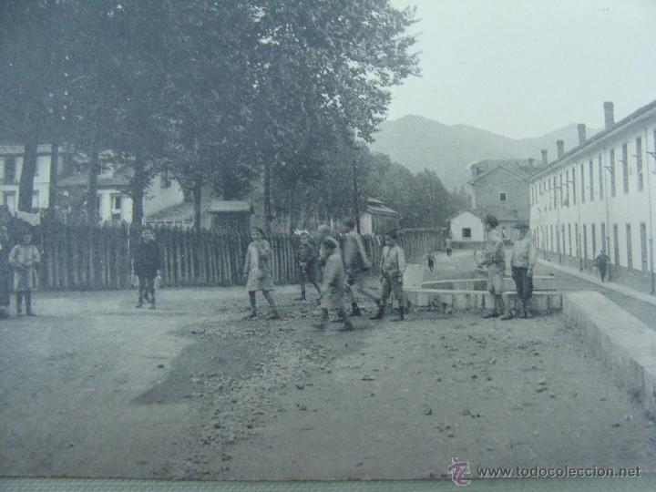 Postales: FABRICA DE TRUBIA. CALLE DEL MONTE. EDICIONES FEDRIANI HERMANAS. FOTOTIPIA THOMAS - Foto 2 - 53302842