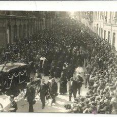 Postales: (PS-47135)POSTAL FOTOGRAFICA OVIEDO (ASTURIAS) 1929 ENTIERRO DE POLICARPO HERRERO VÁZQUEZ (VILLAFRAN. Lote 53516132