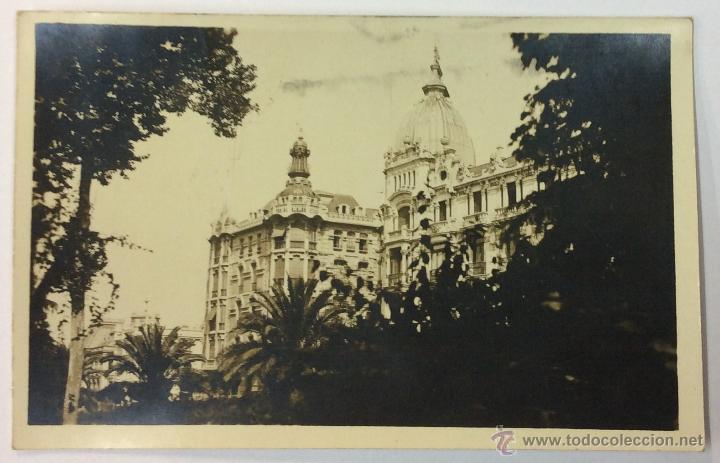 OVIEDO. CENTRO MERCANTIL. POSTAL FOTOGRÁFICA (CELESTINO COLLADA). CIRCULADA EN 1924. (Postales - España - Asturias Antigua (hasta 1.939))