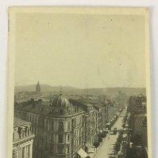 Postales: OVIEDO. CALLE DE URIA. POSTAL FOTOGRÁFICA (CELESTINO COLLADA). CIRCULADA EN 1924.. Lote 53611368
