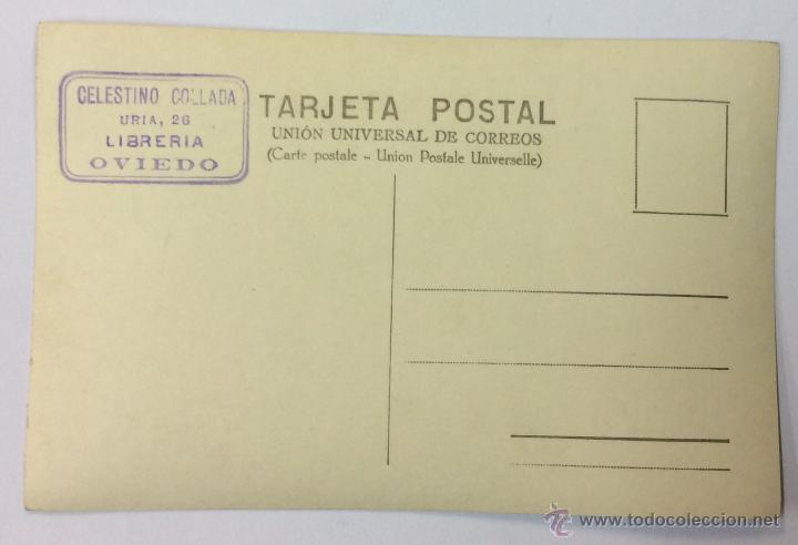 Postales: FERROCARRIL ELÉCTRICO DE AVILÉS. POSTAL FOTOGRÁFICA (CELESTINO COLLADA). - Foto 2 - 53613317
