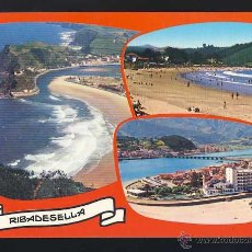 Postales: POSTAL DE RIBADESELLA: 3 VISTAS (ED. ALARDE 12). Lote 54280342