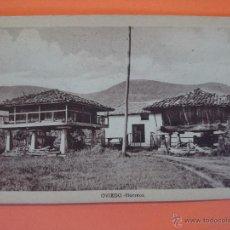 Postales: ANTIGUA POSTAL DE OVIEDO - HÓRREOS - ....... R -1092. Lote 54283867