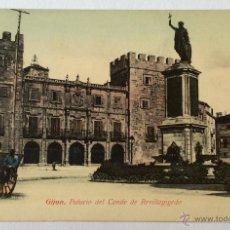 Postales: GIJÓN. PALACIO DEL CONDE DE REVILLAGIGEDO. NÚM 4922 M.J.KISCH. REVERSO SIN DIVIDIR.. Lote 54855312