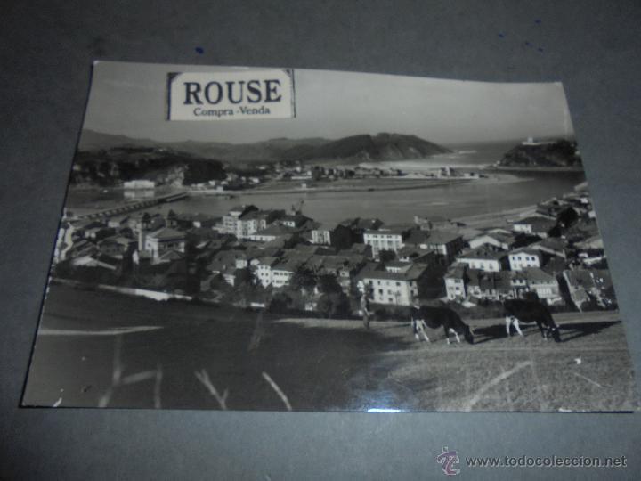 RIBADESELLA - VISTA GENERAL - ESTUDOS HELVIA - 15X10 CM. (Postales - España - Asturias Moderna (desde 1.940))