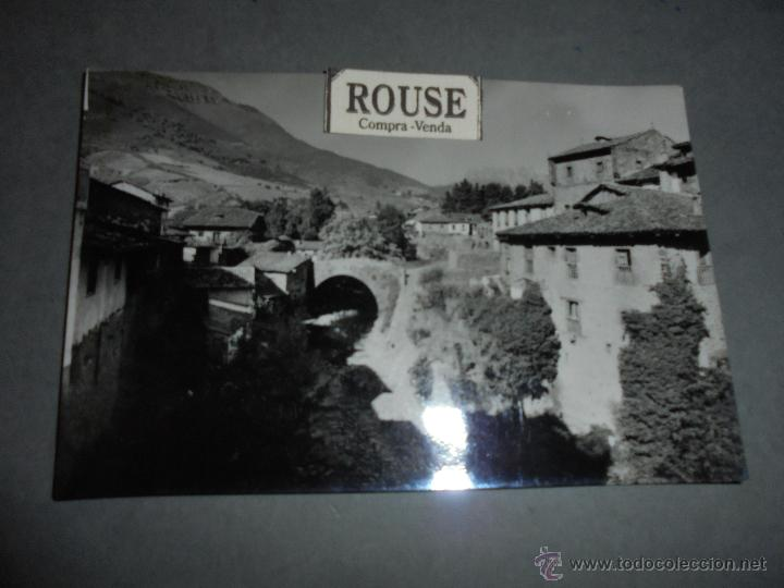 POTES 4 BARRIO DEL SOL Y PUENTE ROMANICO , EDC. SICILIA - 15X10 CM. (Postales - España - Asturias Moderna (desde 1.940))