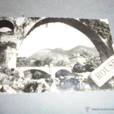 Postales: 6 .- CANGAS DE ONIS - ( ASTURIAS ) PUENTE ROMANO . PAISAJE EDC. GARCIA GARRABELLA - 14X9 CM. CIRCULA. Lote 54883339