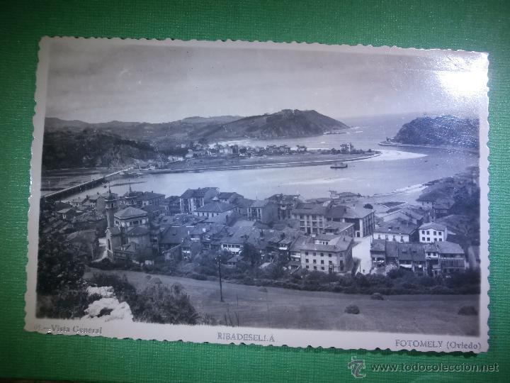 POSTAL - ESPAÑA - ASTURIAS - RIBADESELLA - 101 - VISTA GENERAL - FOTOMELY, OVIEDO - NUEVA - (Postales - España - Asturias Moderna (desde 1.940))