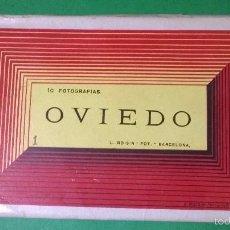 Postales: BLOC OVIEDO (L. ROISIN - BARCELONA), 10 POSTALES EN ACORDEÓN.. Lote 55134283