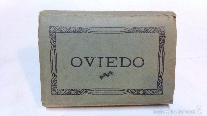 OVIEDO. ALBUM 16 VISTAS ACORDEON. L. ROISIN. (Postales - España - Asturias Antigua (hasta 1.939))