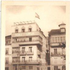 Postales: LUARCA ASTURIAS VISTA DEL HOTEL GAYOSO. Lote 56155345