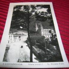 Postales: POSTAL ANTIGUA DE COVADONGA VISTA PARCIAL L. ROISIN --FOTO . Lote 56208751