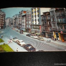 Postales: POSTAL OVIEDO - CALLE ARGUELLES, COCHES / Nº 2006 / 1962 / ARRIBAS. Lote 56820006
