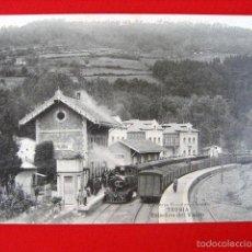 Postales: TRUBIA - ESTACIÓN DEL VASCO - ASTURIAS NT-401. Lote 57073796