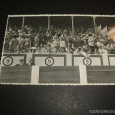 Postales: GIJON ASTURIAS PLAZA DE TOROS PUBLICO FOTO LENA POSTAL FOTOGRAFICA. Lote 57189124