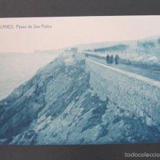 Postales: POSTAL LLANES. PASEO DE SAN PEDRO. . Lote 57658324