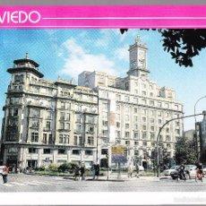 Postales: ASTURIAS OVIEDO PLAZA LA ESCANDALERA. Lote 57733682