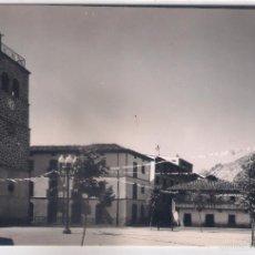 Cartes Postales: POSTAL DE RIAÑO ,PLAZA DE LA IGLESIA .. Lote 57849064