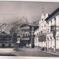 Cartes Postales: POSTAL DE RIAÑO ,PLAZA DEL AYUNTAMIENTO .. Lote 57849107