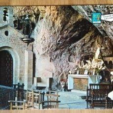 Postales: COVADONGA - CUEVA. Lote 57949588