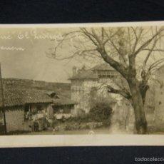 Postales: POSTAL ASTURIAS LLANES CUÉ EL PEDREGAL Y LA BARRERA . Lote 58202822