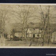 Postales: POSTAL ASTURIAS LLANES CUÉ EL PONTON MODESTO NORIEGA CASA SOLARIEGA 1911 . Lote 58202885