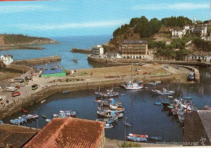 VESIV POSTAL LUARCA Nº18 VISTA PARCIAL DEL PUERTO (Postales - España - Asturias Moderna (desde 1.940))