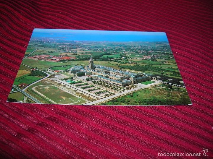ANTIGUA POSTAL DE LA UNIVERSIDAD LABORAL DE GIJÓN (Postales - España - Asturias Moderna (desde 1.940))