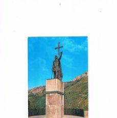 Postales: POSTAL ANTIGUA ASTURIAS SIN CIRCULAR COVADONGA MONUMENTO AL REY PELAYO. Lote 58701132