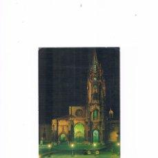 Postales: POSTAL ANTIGUA ASTURIAS SIN CIRCULAR OVIEDO CATEDRAL. Lote 58701200