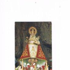 Postales: POSTAL ANTIGUA ASTURIAS CIRCULADA COVADONGA LA SANTINA. Lote 58701379