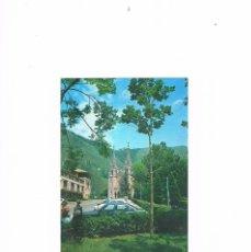 Postales: POSTAL ANTIGUA ASTURIAS CIRCULADA COVADONGA LA BASILICA. Lote 58701407