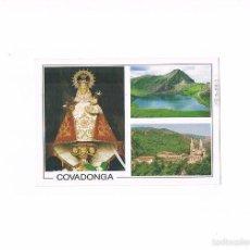 Postales: POSTAL ANTIGUA ASTURIAS CIRCULADA PICOS DE EUROPA COVADONGA. Lote 58876421