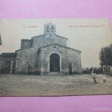 Postales: OVIEDO ASTURIAS FOTOTIPIA 100 %TARJETA POSTAL IGLESIA DE SANTULLANO S IX Nº 14 EDI CASTAÑEIRA. Lote 60723979