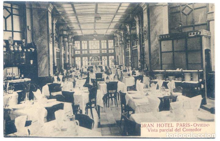 gran hotel paris, oviedo, vista parcial del com - Comprar Postales ...