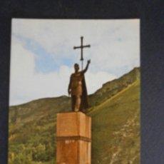 Postales: POSTAL COVADONGA ASTURIAS MONUMENTO AL REY DON PELAYO. Lote 61569776