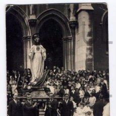 Postales: ANTIGUA POSTAL FOTOGRAFICA. PROCESION DEL CORPUS EN AVILES. ASTURIAS 1927. ORIGINAL. Lote 61629984