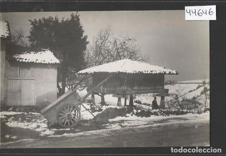 ASTURIAS - 85 - UNA QUINTANA EN INVIERNO -FOTOGRAFICA COLLADO - VER REVERSO - (44.646) (Postales - España - Asturias Antigua (hasta 1.939))