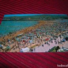 Postales: MUY BELLA POSTAL DE GIJÓN.PLAYA DE SAN LORENZO.. Lote 62199188