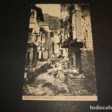 Postales: CUDILLERO ASTURIAS UNA CALLE. Lote 62254260