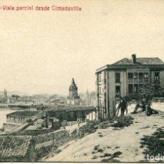 Postales: GIJON VISTA PARCIAL DESDE CIMADEVILLA EDICION M Y R 12. Lote 62693136