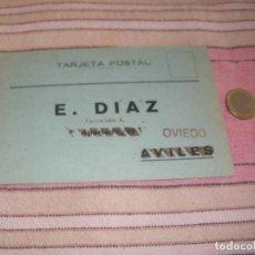 Postales: TARJETA POSTAL - E.DIAZ - AVILES - OVIEDO. Lote 64166899