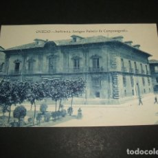 Postales: OVIEDO AUDIENCIA ANTIGUO PALACIO DE CAMPOSAGRADO. Lote 64511947