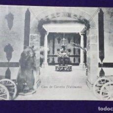 Postales: POSTAL DE VALDESOTO (ASTURIAS). CASA DE CARREÑO. 1910 - 1920.. Lote 67017810