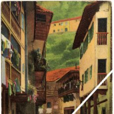 Postales: MAGNIFICA POSTAL - CUDILLERO (ASTURIAS) - CALLE DE RIOFRIO - MUJERES LAVANDO EN ARROYO. Lote 34160934