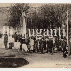 Postales: COLECCION INFIESTO LIBRERIA PAPELERÍA TAMARGO. MERCADO DE GANADOS. Lote 67647437