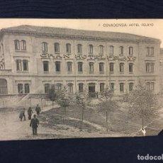 Postales: POSTAL COVADONGA HOTEL PELAYO GRAN HOTEL. Lote 68021377