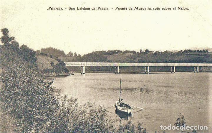 SAN ESTEBAN DE PRAVIA (Postales - España - Asturias Antigua (hasta 1.939))