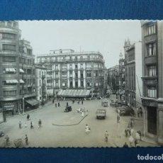 Cartes Postales: GIJÓN ASTURIAS. PLAZA JOSÉ ANTONIO PRIMO DE RIVERA. ED. GARCÍA Nº 39 (CARTEL SASTRERÍA ARJONA). Lote 68291481